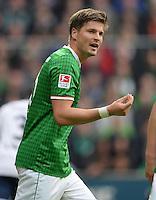 FUSSBALL   1. BUNDESLIGA   SAISON 2013/2014   9. SPIELTAG SV Werder Bremen - SC Freiburg                           19.10.2013 Sebastian Proedl (SV Werder Bremen)