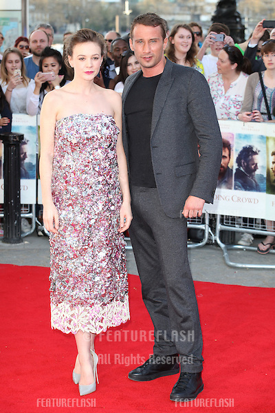 Carey Mulligan and Matthias Schoenaerts attends the World Premiere of 'Far From The Madding Crowd' at BFI Southbank, London. 15/04/2015 Picture by: Alexandra Glen / Featureflash