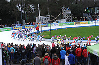 SCHAATSEN: AMSTERDAM: Jaap Edenbaan, 03-01-2016, KPN NK Marathon, ©foto Martin de Jong