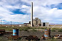 8/28/2008--Hanford, WA, USA..The B-Reactor at the Hanford Site, Washington, along the banks of the Columbia River, was the first large scale plutonium production reactor ever built and started production in December, 1944. The project was commissioned under the Manhattan Project, during World War II, to develop the first nuclear weapons. The B-REactor was shut down in 1968 and on August 25th, 2008, was declared a National Historic Landmark and is now open to tourists...During the Cold War, the Hanford project was expanded to include nine nuclear reactors and five massive plutonium processing complexes, which produced plutonium for most of the 60,000 weapons in the U.S. nuclear arsenal. The weapons production reactors were decommissioned at the end of the Cold War, but the manufacturing process left behind 53 million U.S. gallons of high-level radioactive waste that remains at the site. Hanford is the most contaminated nuclear site in the United States and is the focus of the nation's largest environmental cleanup, providing thousands of jobs to residents in nearby towns such as Richland...©2008 Stuart Isett. All rights reserved.