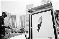"From ""Miami in Black and White"" series. Miami, 2009."