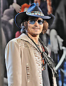 "Johnny Depp, May 12, 2012, Tokyo, Japan : Actor Johnny Depp attends the Japan premiere for the film ""Dark Shadows"" in Tokyo, Japan on May 12, 2012. The film will open on May 19 in Japan."
