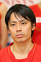 Shintaro Ikeda (JPN), .June 9, 2012 - Badminton : .Badminton Japan National Team Send-off Ceremony for the London Olympics 2012 .in Tokyo, Japan. .(Photo by Daiju Kitamura/AFLO SPORT) [1045]