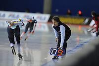 SPEED SKATING: CALGARY: Olympic Oval, 08-03-2015, ISU World Championships Allround, Bart Veldkamp (coach Team Stressless), ©foto Martin de Jong