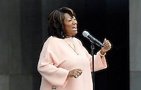 Patti LaBelle performs &igrave;A Change is Gonna Come&icirc; during the opening ceremony of the Smithsonian National Museum of African American History and Culture on September 24, 2016 in Washington, DC. The museum is opening thirteen years after Congress and President George W. Bush authorized its construction. <br /> Credit: Olivier Douliery / Pool via CNP / MediaPunch