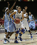 UK Hoops' freshman guard Kastine Evan tries to put in a basket in the second half of UK Hoops' second round NCAA game against UNC in The Pit in Albuquerque, New Mexico, 3/22/11. Photo by Brandon Goodwin | Staff.