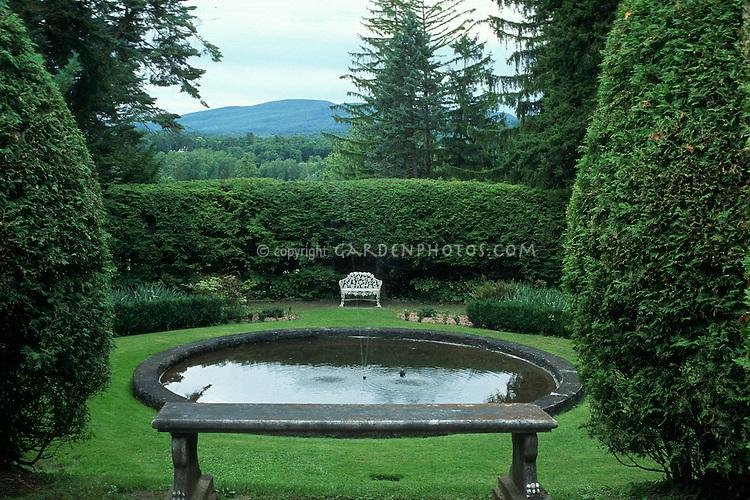 Naumkeag stockbridge massachusetts designed by fletcher for Garden reflecting pool