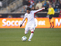 Lee Nguyen.  The Philadelphia Union defeated the New England Revolution, 1-0, at PPL Park in Chester, PA.