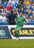 August 03 2010 Panathinaikos FC defender Nikolaos Spyropoulos No. 31 in action during an international friendly between Inter Milan FC and Panathinaikos FC at the Rogers Centre in Toronto..Final score was 3-2 for Panathinaikos FC.