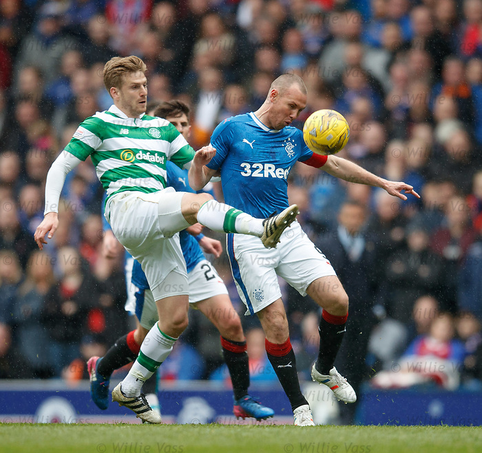 Stuart Armstrong and Kenny Miller