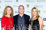 Yvonne Murphy Alex Fegan and Elaine Kinsella at the Kerry Film Festival in the Gleneagle Hotel on Sunday night