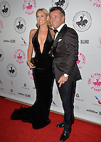 BEVERLY HILLS, CA. October 8, 2016: Kym Johnson &amp; Robert Herjavec  at the 2016 Carousel of Hope Ball at the Beverly Hilton Hotel.<br /> Picture: Paul Smith/Featureflash/SilverHub 0208 004 5359/ 07711 972644 Editors@silverhubmedia.com