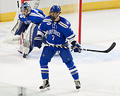 Shane Starrett (AFA - 40), Matt Koch (AFA - 7) - The Harvard University Crimson defeated the Air Force Academy Falcons 3-2 in the NCAA East Regional final on Saturday, March 25, 2017, at the Dunkin' Donuts Center in Providence, Rhode Island.