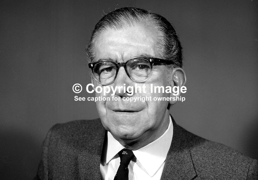John McBride, professional actor, Belfast, N Ireland, May 1969, 196905000179b.<br /> <br /> Copyright Image from Victor Patterson, 54 Dorchester Park, Belfast, UK, BT9 6RJ<br /> <br /> t1: +44 28 9066 1296 (from Rep of Ireland 048 9066 1296)<br /> t2: +44 28 9002 2446 (from Rep of Ireland 048 9002 2446)<br /> m: +44 7802 353836<br /> <br /> e1: victorpatterson@me.com<br /> e2: victorpatterson@gmail.com<br /> <br /> The use of any of my copyright images is subject to my Terms &amp; Conditions. It is IMPORTANT that you familiarise yourself with them. They are available at my website, victorpatterson.com.<br /> <br /> None of my copyright images may be used on the Internet unless they are visibly watermarked, i.e. &copy; Victor Patterson within the body of the image. My metadata, denoting my copyright must NOT be deleted. <br /> <br /> Web use is extra at currently recommended NUJ rates. Maximum permitted web size is<br />  400kb. <br /> <br /> Images must not be passed on to a third party - they are for the use of the authorised recipient only.