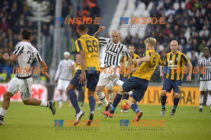 Simone Zaza Juventus,<br /> Torino 06-01-2016, Juventus Stadium, Football Calcio 2015/2016 Serie A, Juventus - Verona, Foto Filippo Alfero/Insidefoto