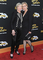 NORTH HOLLYWOOD, CA - JUNE 2:  Florence Henderson and Maureen McCormick at The Television Academy's 70th Anniversary at The Television Academy on June 2, 2016 in North Hollywood, California. Credit: PGSK/MediaPunch