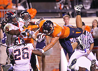 Virginia defeated Richmond 34-13 in their season opener September 4, 2010 at Scott Stadium in Charlottesville, Va. Credit Image: © Andrew Shurtleff
