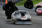 Jun. 19, 2011; Bristol, TN, USA: NHRA pro mod driver Danny Rowe during eliminations at the Thunder Valley Nationals at Bristol Dragway. Mandatory Credit: Mark J. Rebilas-