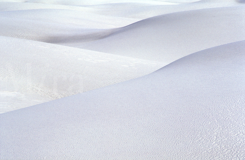 USA, New Mexico, White Sands national Monument. sand dune