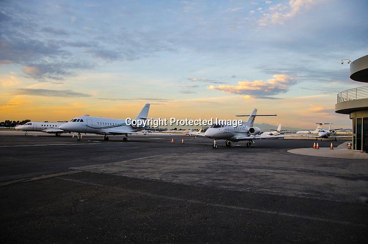 Stock photo of jets Executive Jet aircraft stock photos
