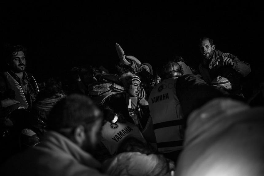 Fleeing in the dark