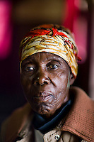 "69 year old Jessica has been the victim of political violence due to her opposition to the ruling Zanu PF. All she says is, ""I am old. My home was destroyed [by Zanu PF supporters]. I want to be able to work again."""
