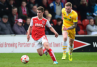 Fleetwood Town's Cameron Brannagan in action<br /> <br /> Photographer Richard Martin-Roberts/CameraSport<br /> <br /> The EFL Sky Bet League One - Fleetwood Town v Millwall - Monday 17th April 2017 - Highbury Stadium - Fleetwood<br /> <br /> World Copyright &copy; 2017 CameraSport. All rights reserved. 43 Linden Ave. Countesthorpe. Leicester. England. LE8 5PG - Tel: +44 (0) 116 277 4147 - admin@camerasport.com - www.camerasport.com