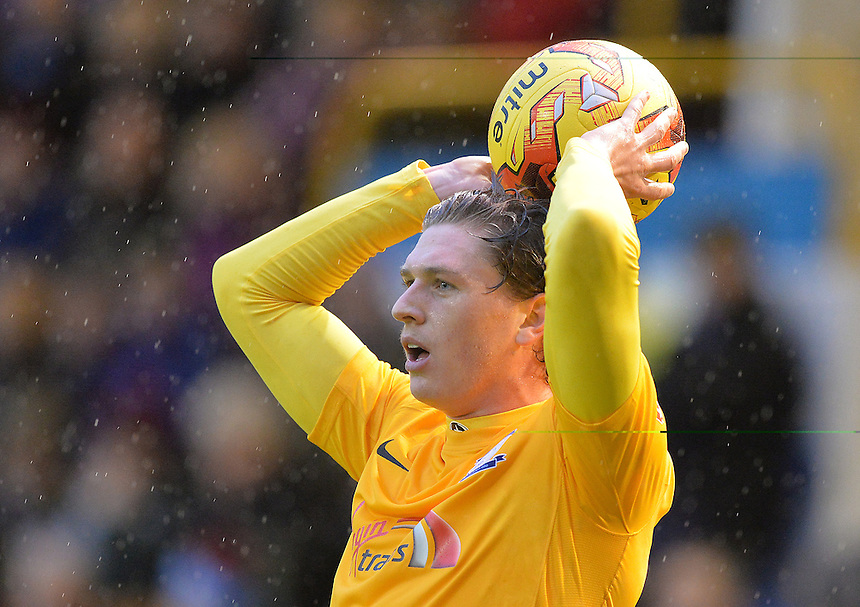 Preston North End's Adam Reach<br /> <br /> Photographer Dave Howarth/CameraSport<br /> <br /> Football - The Football League Sky Bet Championship - Burnley v Preston North End - Saturday 5th December 2015 - Turf Moor - Burnley<br /> <br /> &copy; CameraSport - 43 Linden Ave. Countesthorpe. Leicester. England. LE8 5PG - Tel: +44 (0) 116 277 4147 - admin@camerasport.com - www.camerasport.com
