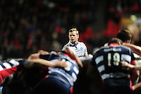 Chris Cook of Bath Rugby looks on. European Rugby Challenge Cup match, between Bristol Rugby and Bath Rugby on January 13, 2017 at Ashton Gate Stadium in Bristol, England. Photo by: Patrick Khachfe / Onside Images