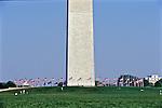 Flags At Half Mast, Washington Monument