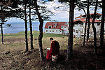 00270_17, Gampo Abbey, Nova Scotia, Canada, Footsteps of Buddha, 2005