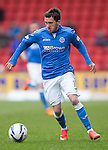 St Johnstone v Inverness Caley Thistle...02.05.15   SPFL<br /> Danny Swanson<br /> Picture by Graeme Hart.<br /> Copyright Perthshire Picture Agency<br /> Tel: 01738 623350  Mobile: 07990 594431