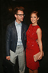 Brad Goreski and Minka Kelly   -Backstage - Mercedes-Benz New York Fashion Week- Jenny Packham Spring/Summer 2013 Runway Show‏, 9/11/12