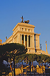 "The Monument to Vittorio Emanuele II also nicknamed The ""Wedding Cake"" in Piazza Venezia Next to the Roman Forum"