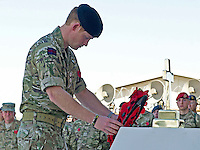 Prince Harry Attends Service of Remembrance at Kandahar Air Base - Afghanistan