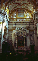 Venice:  Church of the Jesuits--altar.  Photo '83.