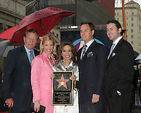 ©2005 KATHY HUTCHINS /HUTCHINS PHOTO.SUSAN LICCI CELEBRATES 35TH ANNIVERSARY.ON ALL MY CHILDREN WITH HER STAR ON.HOLLYWOOD WALK OF FAME.HOLLYWOOD, CA.JANUARY  28, 2005..HELMUT HUBER,LIZA HUBER,SUSAN LUCCI,.ANDREAS HUBER, ALEXANDER GEORGE HESTERBERG III