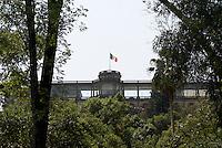 The Castillo de Chapultepec in Chapultepec Park, Mexico City