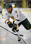 19 January 2008: University of Vermont Catamounts' defenceman Slavomir Tomko, a Senior from Zvolen, Slovakia, in action against the Northeastern University Huskies at Gutterson Fieldhouse in Burlington, Vermont. The Catamounts defeated the Huskies 5-2 to close out their 2-game weekend series...Mandatory Photo Credit: Ed Wolfstein Photo