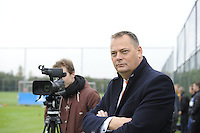 VOETBAL: HEERENVEEN: 21-10-2015, Sportpark Skoatterwâld, SC Heerenveen training onder leiding van Foppe de Haan, Voorzitter Jelko van der Wiel, ©foto Martin de Jong