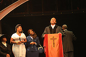 "August 26, 2011 (Washington, DC)    Actor Clifton Davis performs a rousing musical scene from ""M.L.K.: A Monumental Life"" tribute to Martin Luther King Jr. at the D.A.R. Constitution Hall in Washington.  The event, presented by Alpha Phi Alpha Fraternity, was a theatrical and musical celebration honoring Dr. King.  (Photo by Don Baxter/Media Images International)"