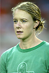 14 July 2004: Lindsay Stoecker. The Washington Freedom defeated the Nottingham Forest Ladies 8-0 at RFK Stadium in Washington, DC during an exhibition matched played to honor the Freedom's 2002 WUSA championship..