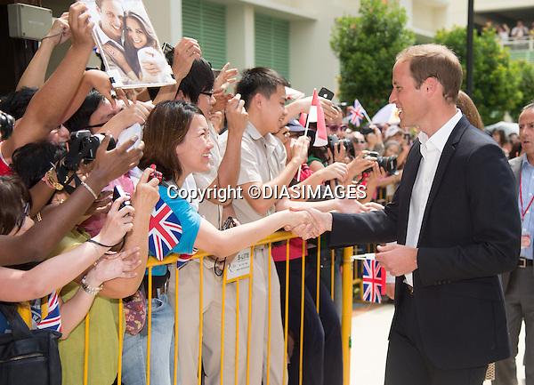 """CATHERINE, DUCHESS OF CAMBRIDGE AND PRINCE WILLIAM.visit Queenstown Precint for a cultural event.They were greeted by Dragon Dancers and observed a display of Tai Chi_12/09/2012.Mandatory credit photo: ©TR Pool/DIASIMAGES..""""""""NO UK USE FOR 28 DAYS UNTIL 10TH OCTOBER 2012""""..                **ALL FEES PAYABLE TO: """"NEWSPIX INTERNATIONAL""""**..IMMEDIATE CONFIRMATION OF USAGE REQUIRED:.DiasImages, 31a Chinnery Hill, Bishop's Stortford, ENGLAND CM23 3PS.Tel:+441279 324672  ; Fax: +441279656877.Mobile:  07775681153.e-mail: info@newspixinternational.co.uk"""