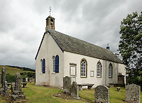 Traquair Church at Kirkhouse near Innerleithen in the Scottish Borders. built in 1778
