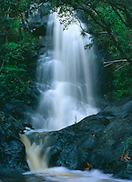 Reef Bay Waterfall after a heavy rain<br />