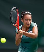 Heather WATSON (GBR) against Tsvetana PIRONKOVA (BUL) in the first round. Pironkova beat Watson 6-4 6-2..International Tennis - 2010 ATP World Tour - Sony Ericsson Open - Crandon Park Tennis Center - Key Biscayne - Miami - Florida - USA - Wed 24 Mar 2010..© Frey - Amn Images, Level 1, Barry House, 20-22 Worple Road, London, SW19 4DH, UK .Tel - +44 20 8947 0100.Fax -+44 20 8947 0117