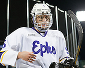 Zander Masucci (Williams - 5) - The Williams College Ephs defeated the Trinity College Bantams 4-2 (EN) on Tuesday, January 7, 2014, at Fenway Park in Boston, Massachusetts.
