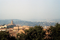 Italy: Perugia--Lower City, San Pietro Quarter. Photo '83.