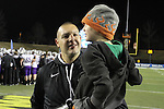 Vince Kehres and his son after Stagg Bowl XL