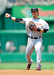 13 July 2008: Houston Astros' second baseman Kazuo Matsui works the infield during a game against the Washington Nationals at Nationals Park in Washington, DC. The Astros shut out the Nationals 5-0 to take the rubber match of their 3-game series, as both teams head into the All-Star break and the second half of the 2008 season...Mandatory Photo Credit: Ed Wolfstein Photo